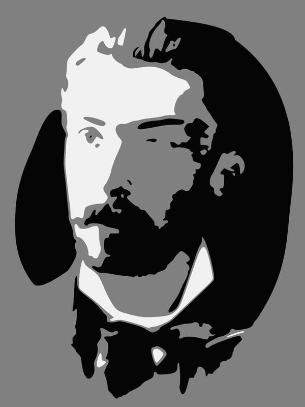 Retrato estilizado de Francisco de Arruda Furtado.