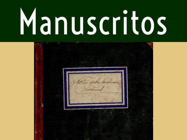 Título da seção Manuscritos