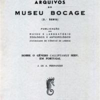 Sobre o género Calliptamus Serv. em Portugal