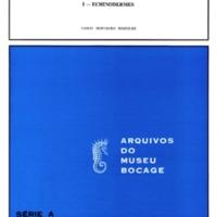 Peuplements benthiques des Açores. Echinodermes