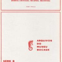 The first  zoeal stages of Polybius henslowi Leach, Maja squinado (Herbst), Pachygrapsus marmoratus (Fabricius) and Uca tangeri  (Eydoux) (Crustacea, Decapoda, Brachyura)