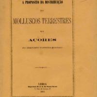 A proposito da distribuição dos molluscos terrestre nos Açores