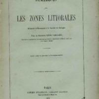 Remarques sur les zones littorales, mémoire communiqué à la Société de Biologie