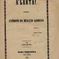 A'lerta: Antidoto da reacção Açoriana
