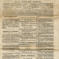 Journal Officiel de la Republique Française