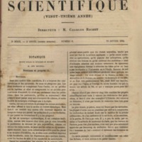 Revue Scientifique, 1884