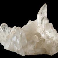 Amostra mineralógica da mina da panasqueira mostrando Quartzo