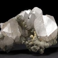 Amostra mineralógica da mina da panasqueira mostrando Pirite Botrioidal