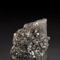 Amostra mineralógica da mina da panasqueira mostrando Cassiterite e Volframite