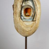 Modelo anatómico articulado com 4 fases do desenvolvimento embrionário de uma ave - vista geral.
